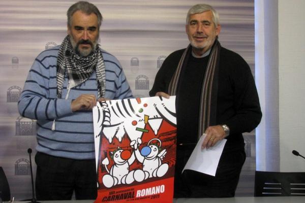 Presentación del Cartel para le Carnaval Romano de Mérida