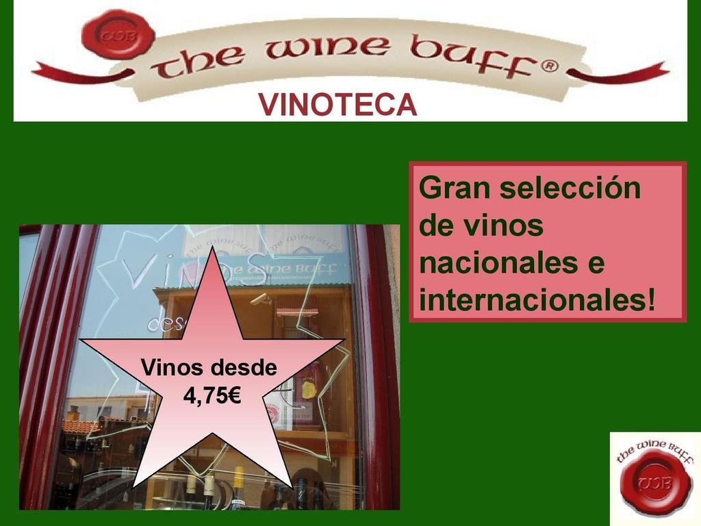 Web fotos del muro de the wine buff seleccion vinos jpg
