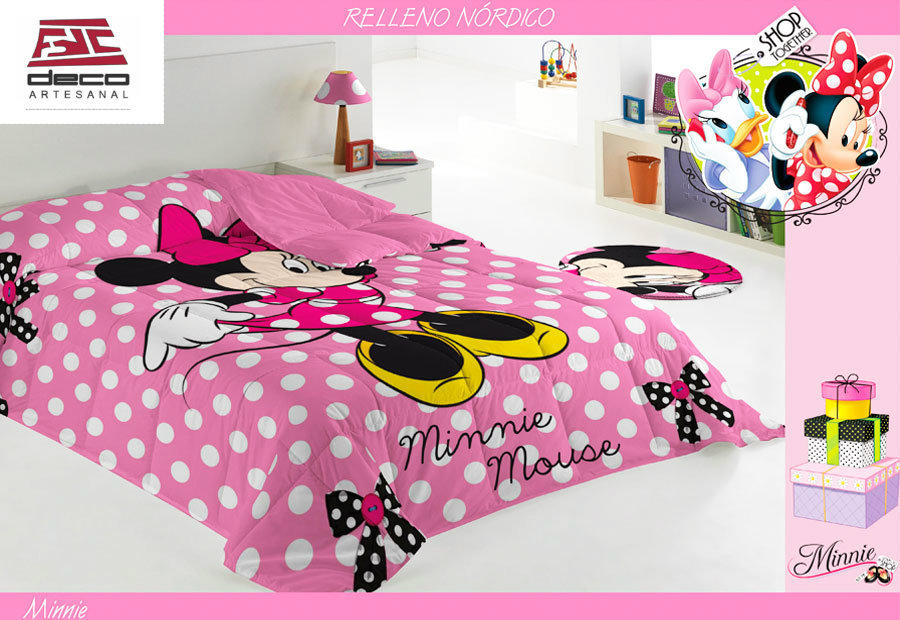 Web fotos del muro de decoartesanal fdc duvet minnie