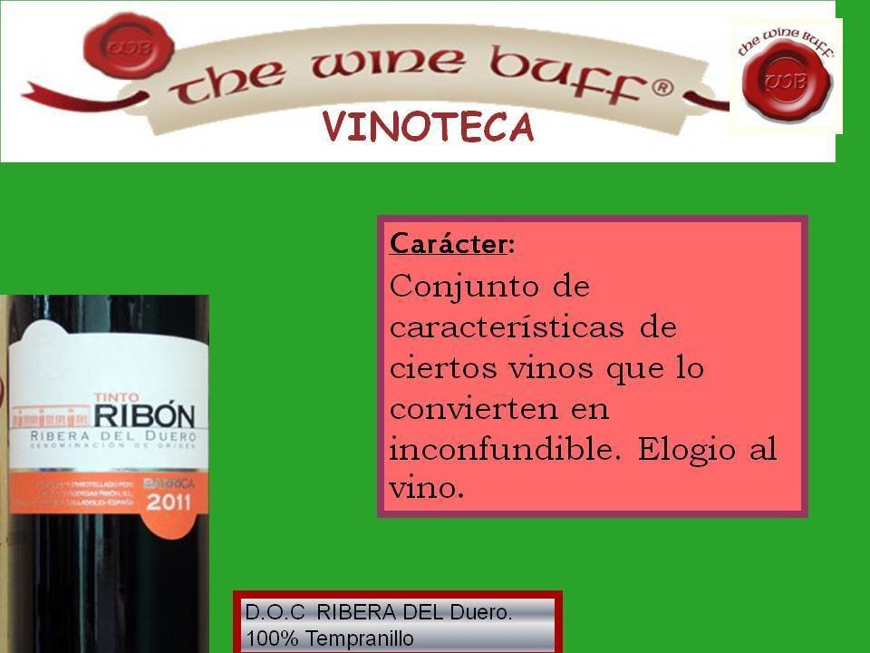 Web fotos del muro de the wine buff caracter