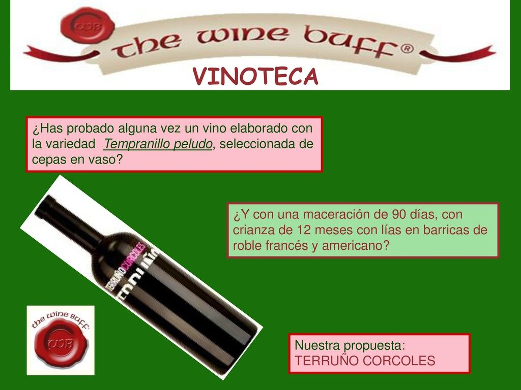 Web fotos del muro de the wine buff terruno page 0 1