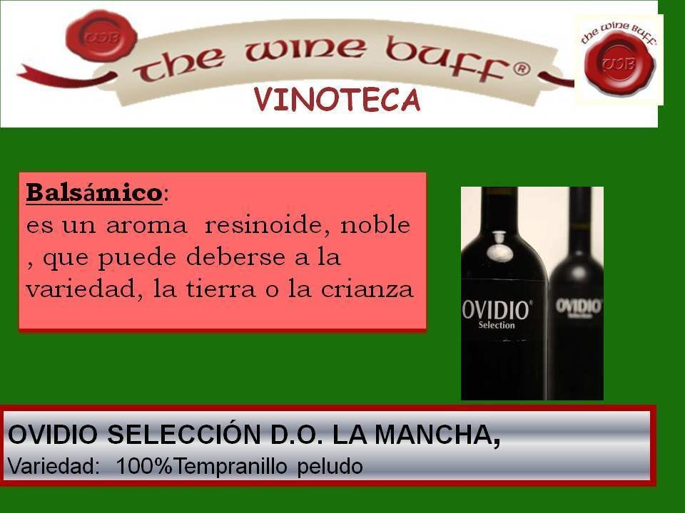 Web fotos del muro de the wine buff balsamico