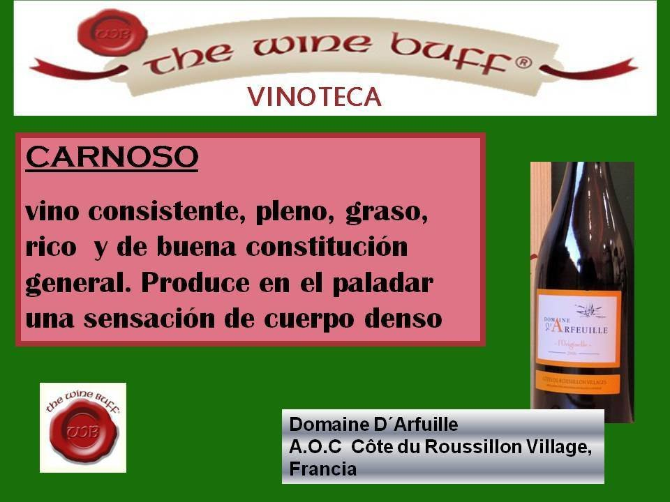 Web fotos del muro de the wine buff carnoso