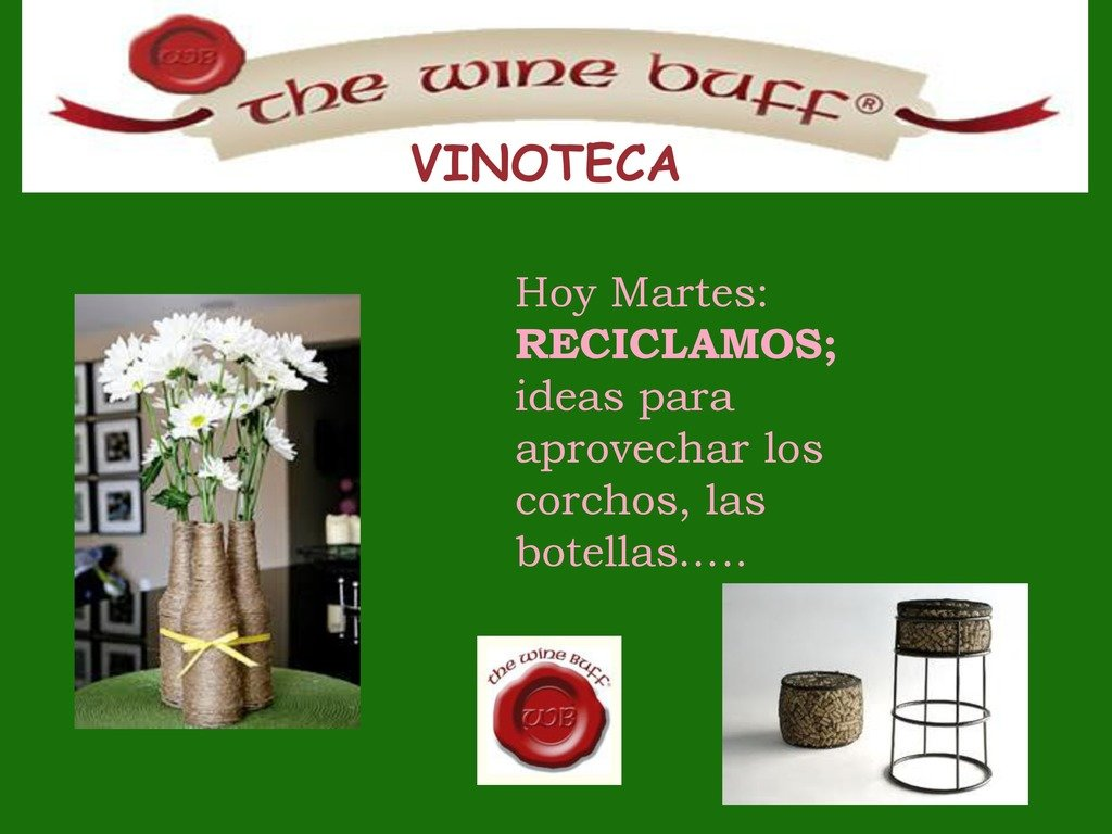 Web fotos del muro de the wine buff reciclaje 1 page 0 1