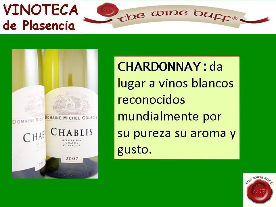 Web fotos del muro de the wine buff chardonnay