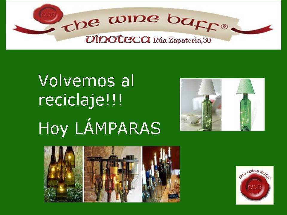 Web fotos del muro de the wine buff reciclaje