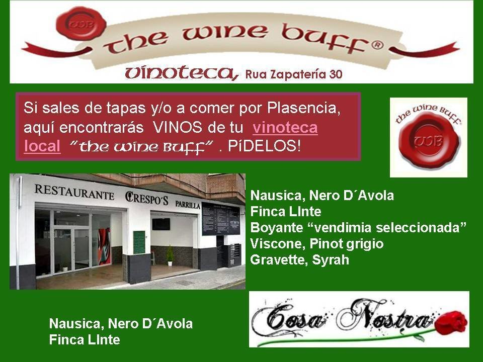 Web fotos del muro de the wine buff bares plasencia
