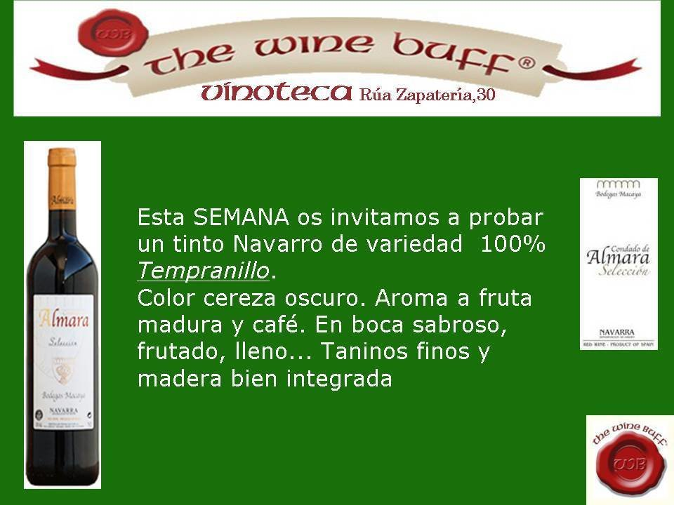 Web fotos del muro de the wine buff almara selec
