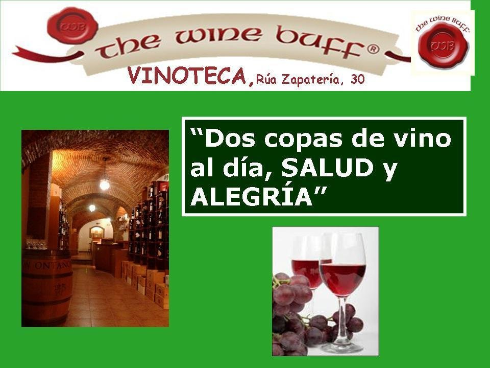 Web fotos del muro de the wine buff 2 copas al dia