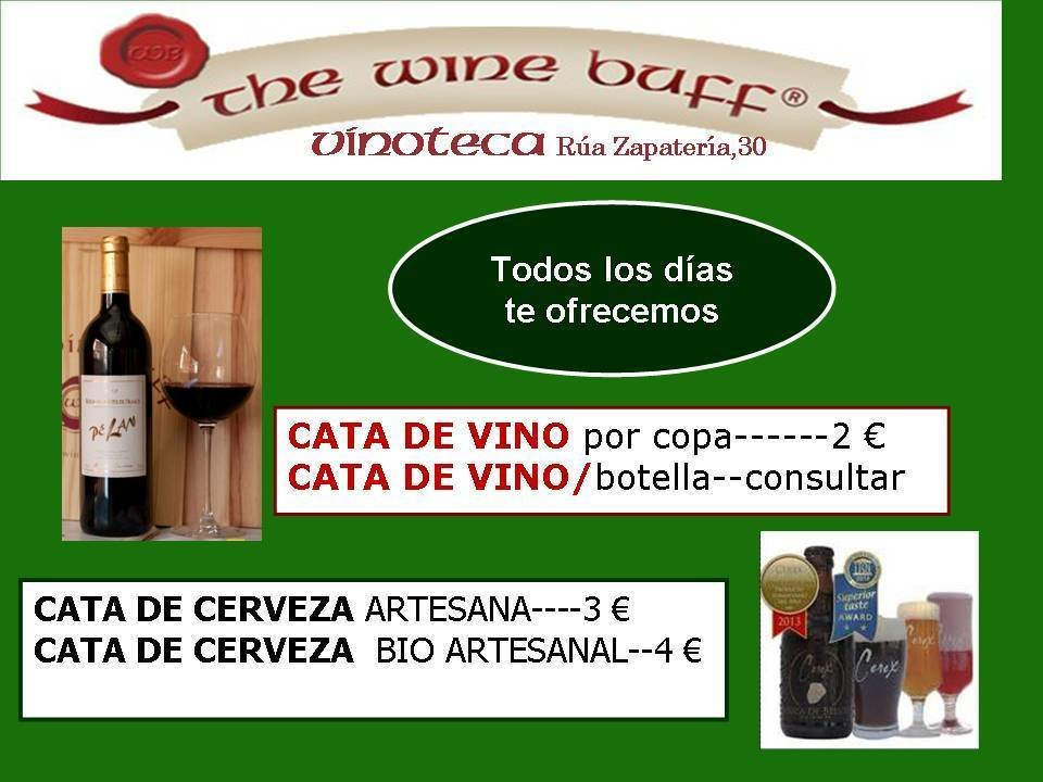 Web fotos del muro de the wine buff cata de vinos y cervezas
