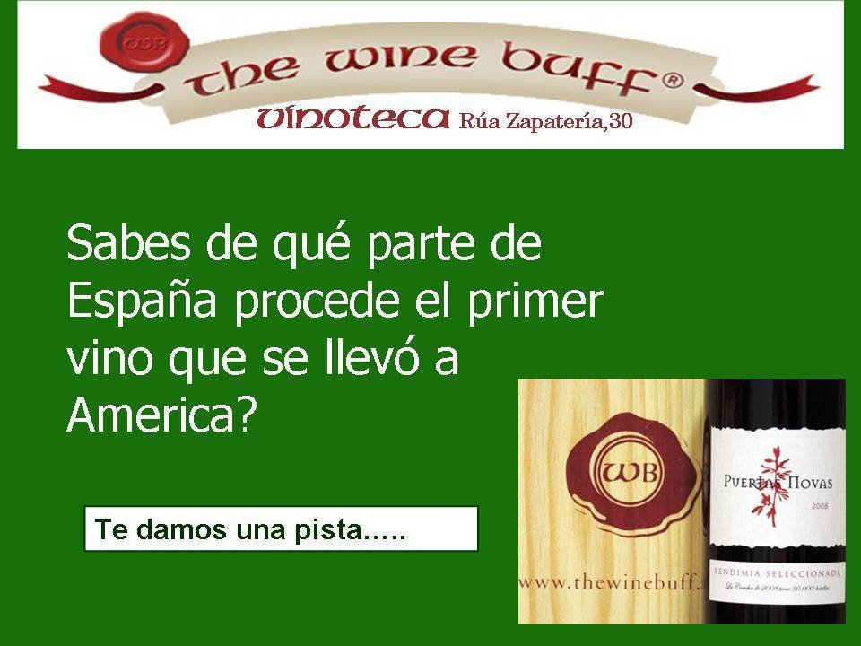 Web fotos del muro de the wine buff primer vino para ameria