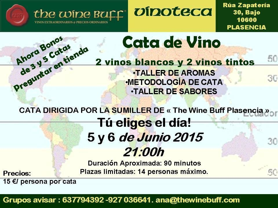 Web fotos del muro de the wine buff cata junio