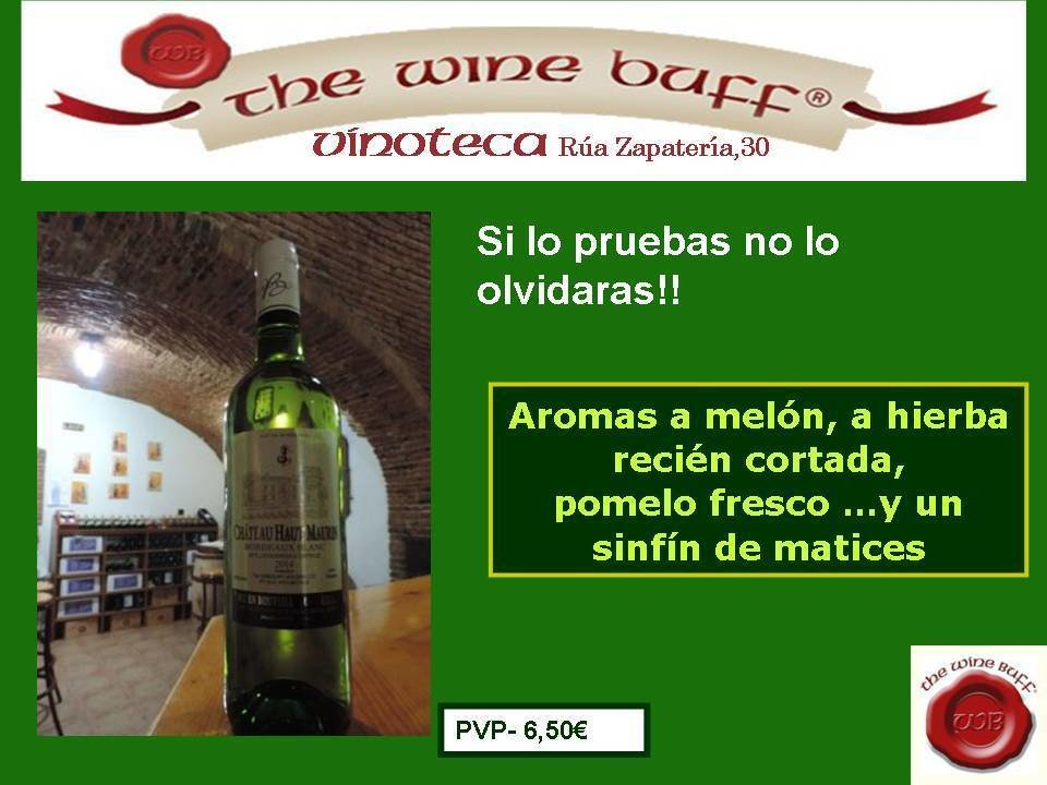 Web fotos del muro de the wine buff haur maurin semillon 2014
