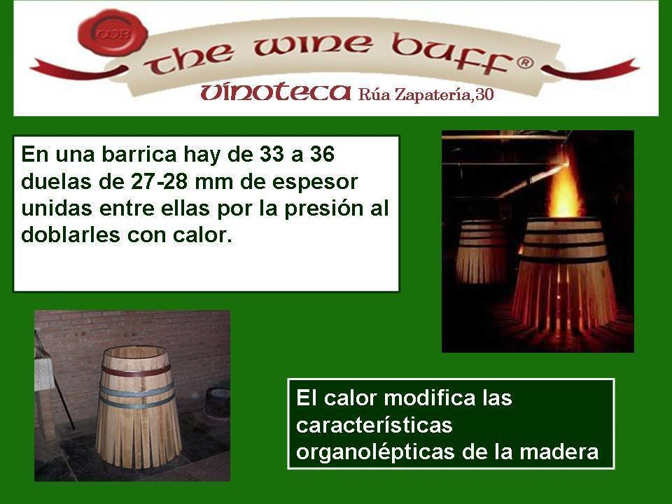 Web fotos del muro de the wine buff barricas 1