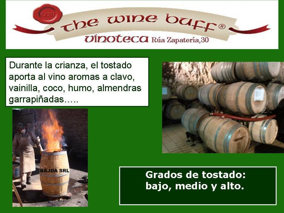 Web fotos del muro de the wine buff barricas 2