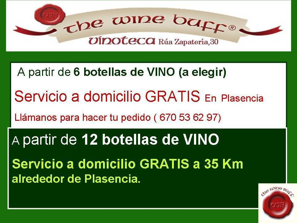 Web fotos del muro de the wine buff servicio a domicilio