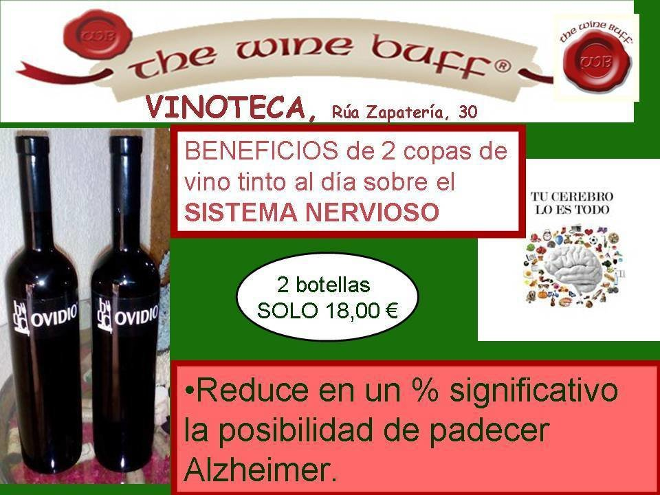 Web fotos del muro de the wine buff sma nervioso con ovidio