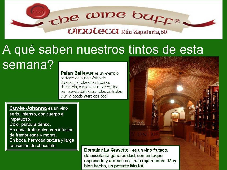 Web fotos del muro de the wine buff 17 agodto