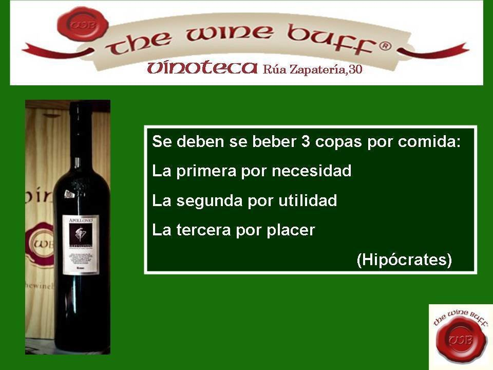 Web fotos del muro de the wine buff 20 octubre