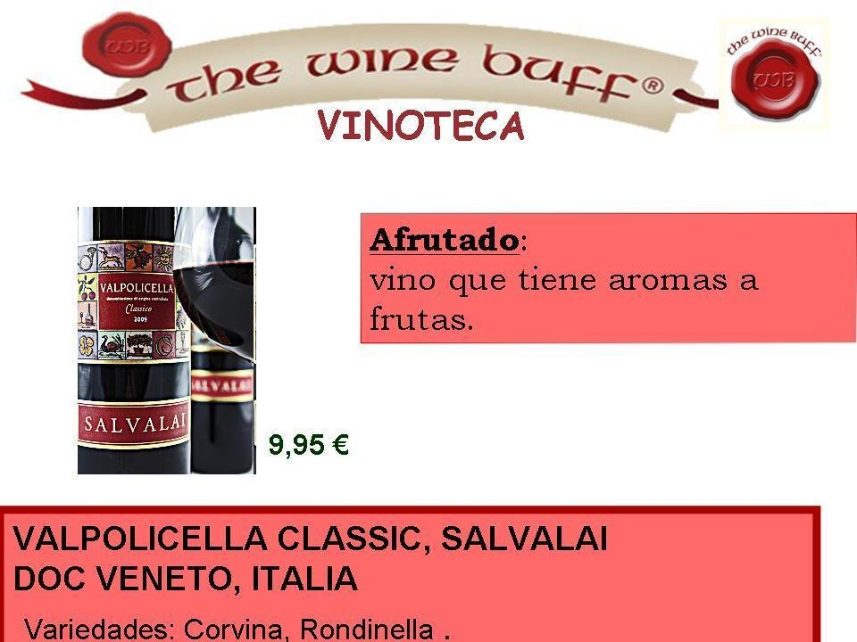 Web fotos del muro de the wine buff 2 dic