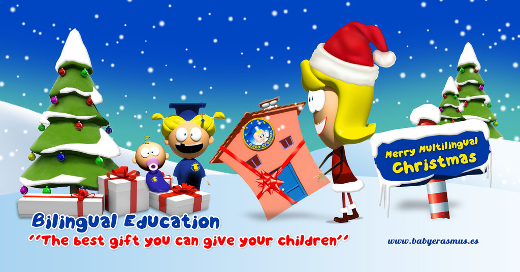 Web fotos del muro de baby erasmus bilingual education baby erasmus christmas 2015