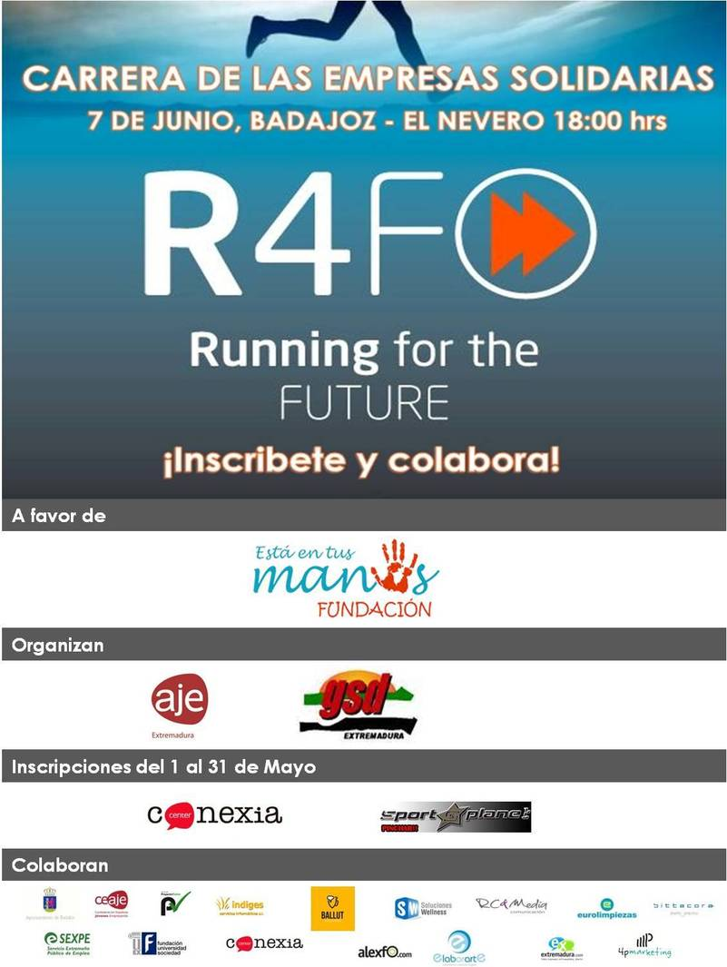 "Carrera de las empresas solidarias "" Running for the future """