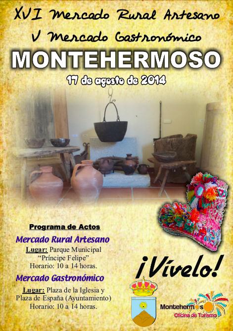 Mercado artesano y rural de montehermoso aire libre en for Oficina de turismo de plasencia