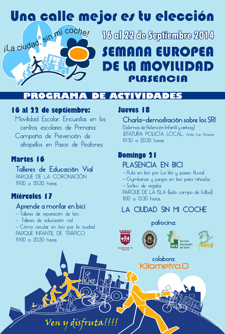 Normal semana europea de la movilidad plasencia