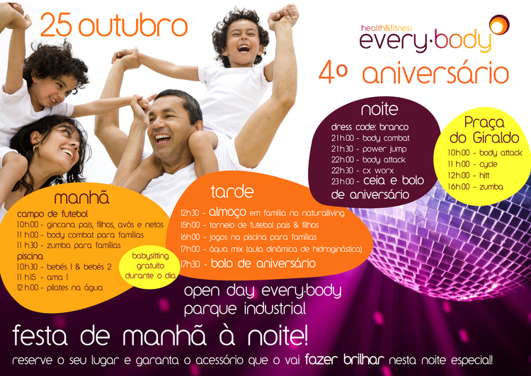 Normal 4 aniversario every body health fitness