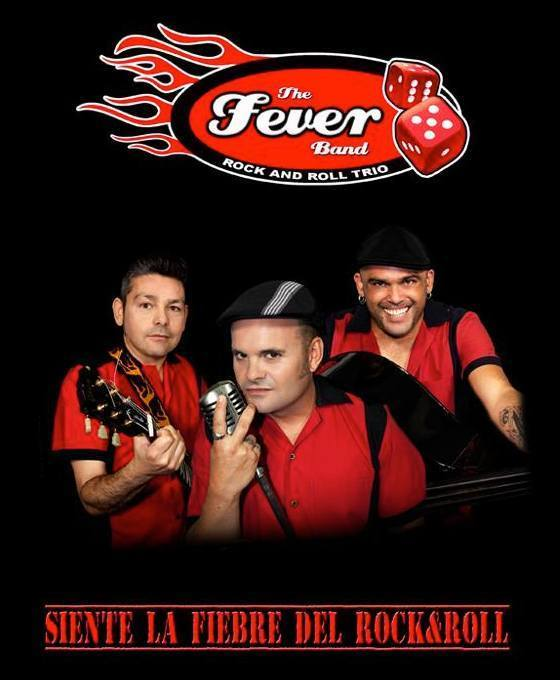 Normal fever band en concierto caceres