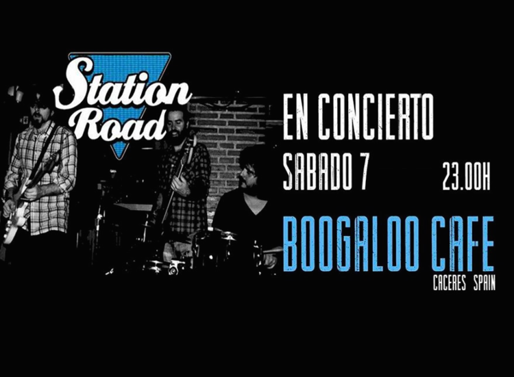 Normal station road en concierto caceres