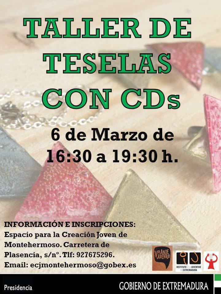 Normal taller de teselas con cds