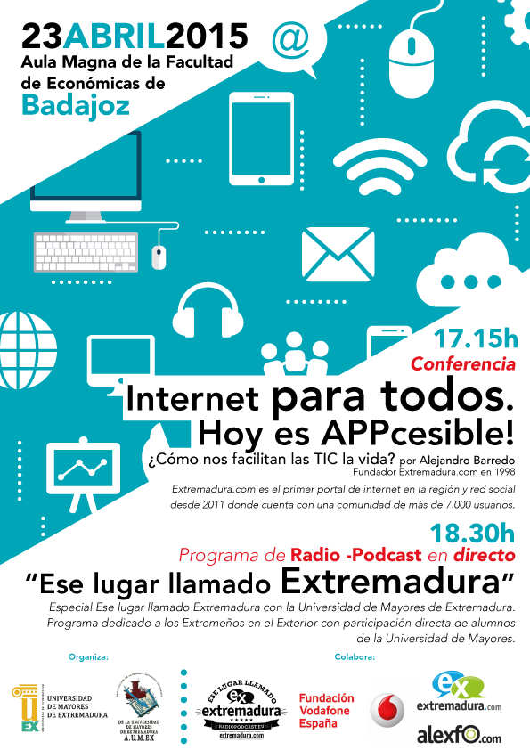 Normal conferencia internet para todos hoy es appcesible