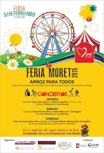 Normal feria moret caceres