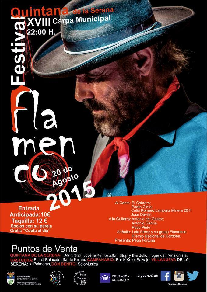 Normal festival flamenco quintana de la serena 2015