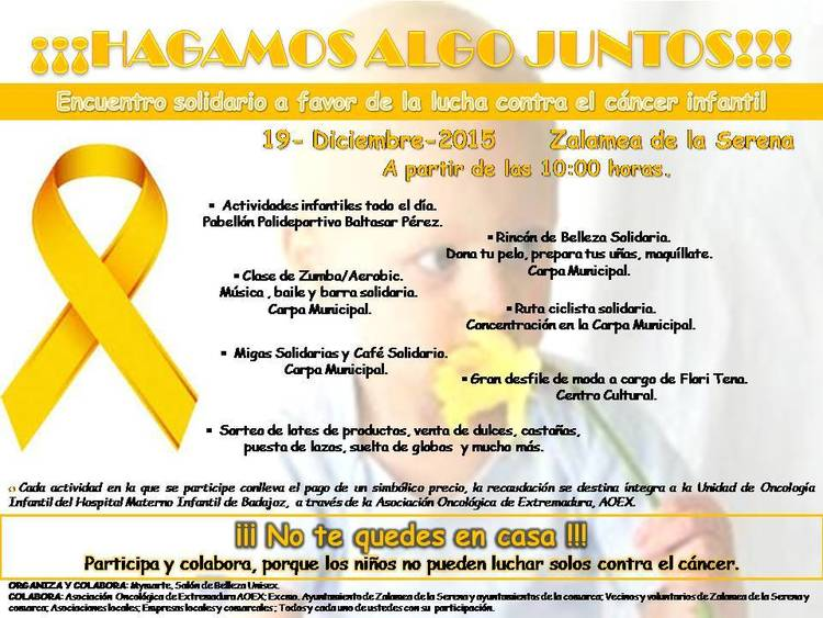 Normal encuentro solidario a favor de la lucha contra el cancer