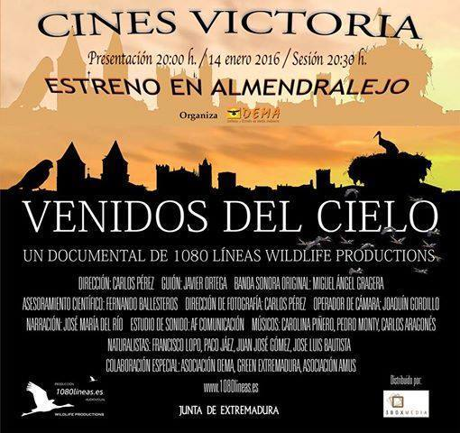 Normal proyeccion del documental venidos del cielo montijo