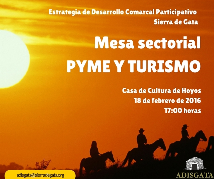 Normal mesa sectorial pyme y turismo