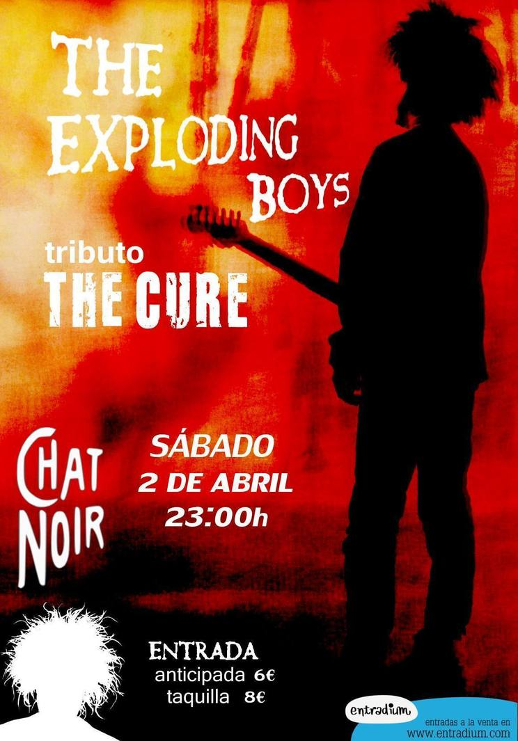 Normal concierto de the exploding boys tributo de the cure en badajoz