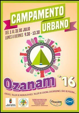 Normal campamento urbano ozanam 2016 en don benito