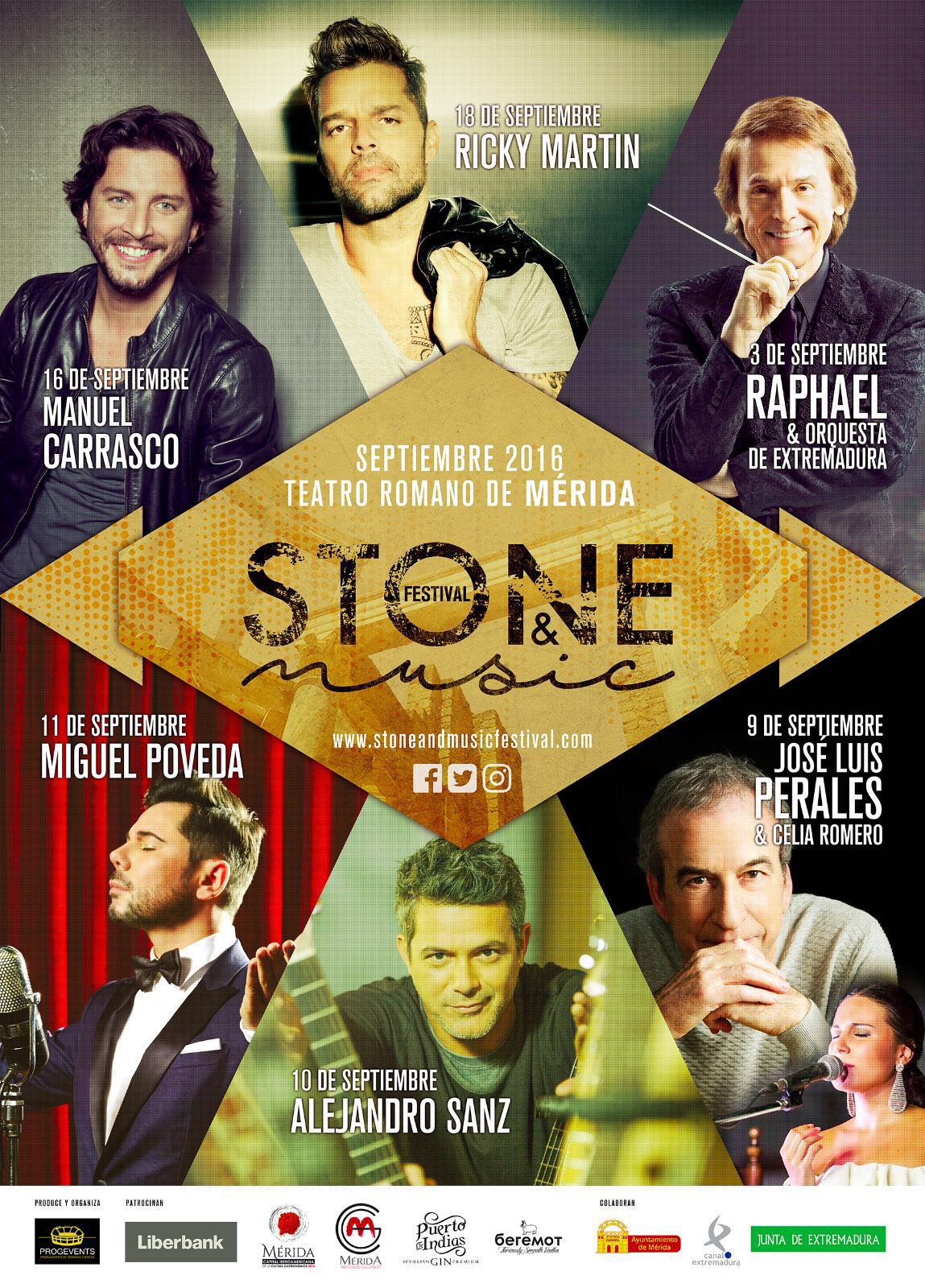 Stone and music festival en merida