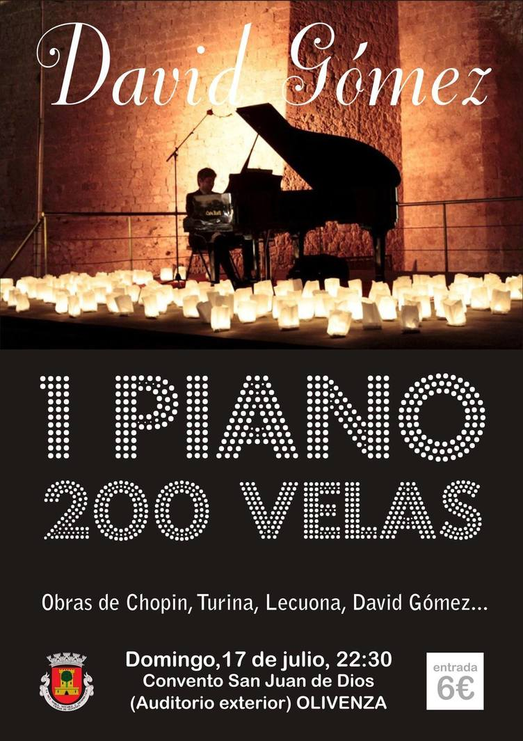 Normal 1 piano y 200 velas