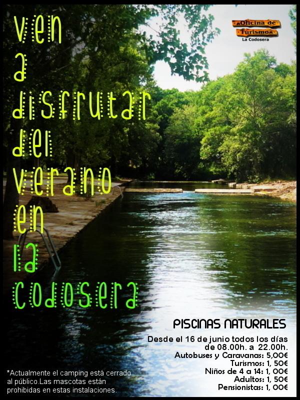 Piscinas naturales de la codosera experiencia en la for Piscinas naturales horcajo de la sierra