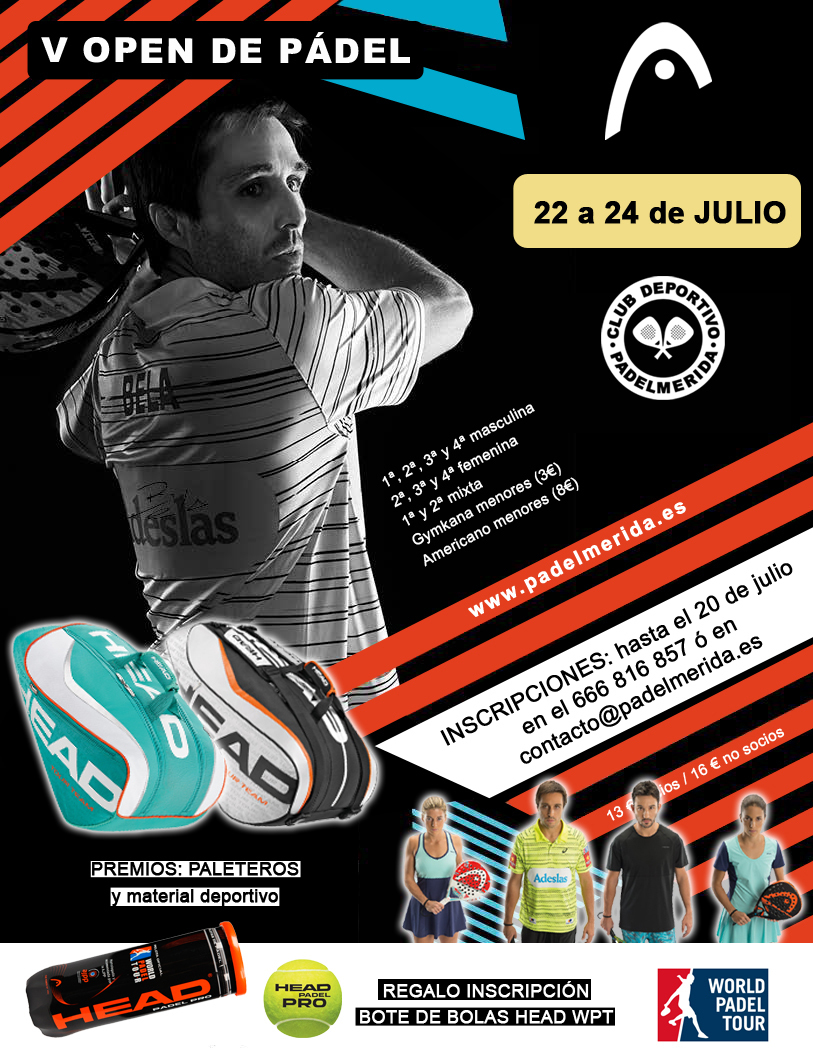 Normal v open de padel en merida