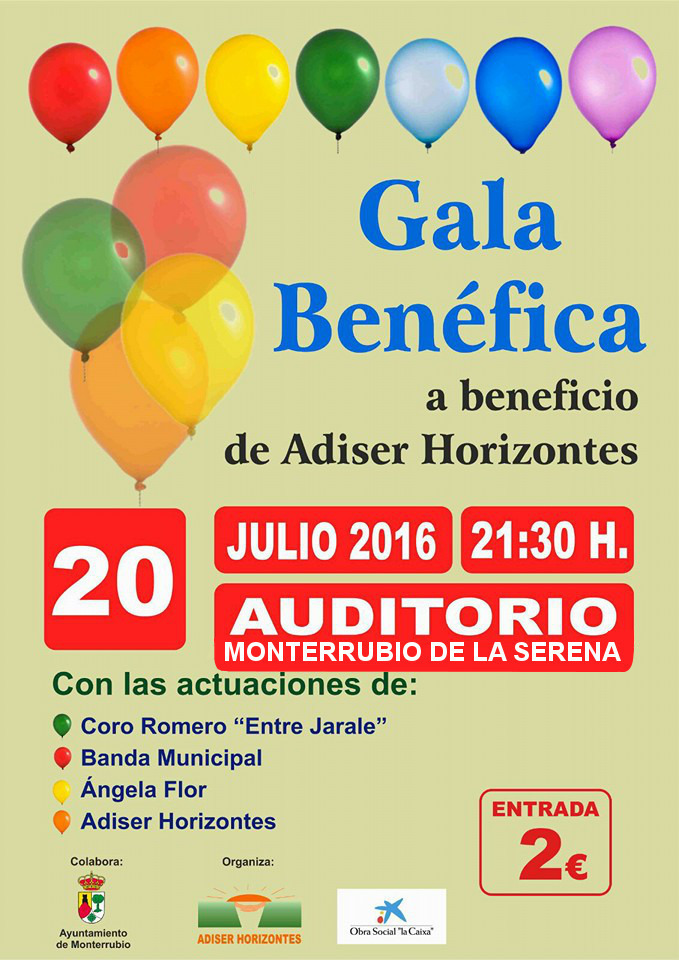 Normal gala benefica adiser horizontes