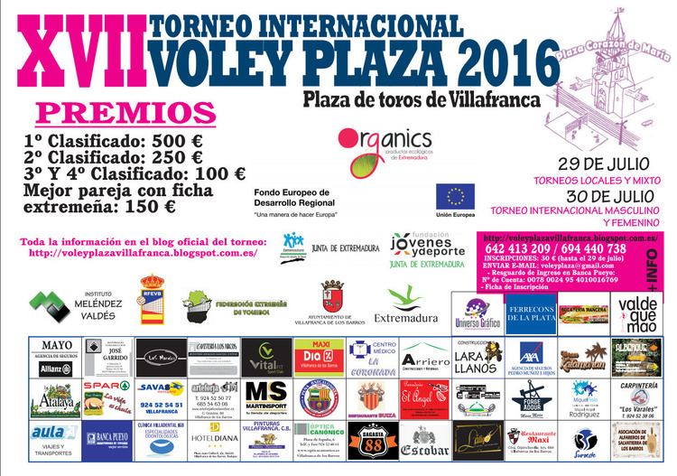 Normal torneo internacional del voley plaza en vilafranca de los barros