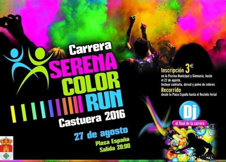 Normal carrera serena color run en castuera
