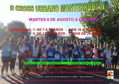 Normal ii cross urbano monterrubiano