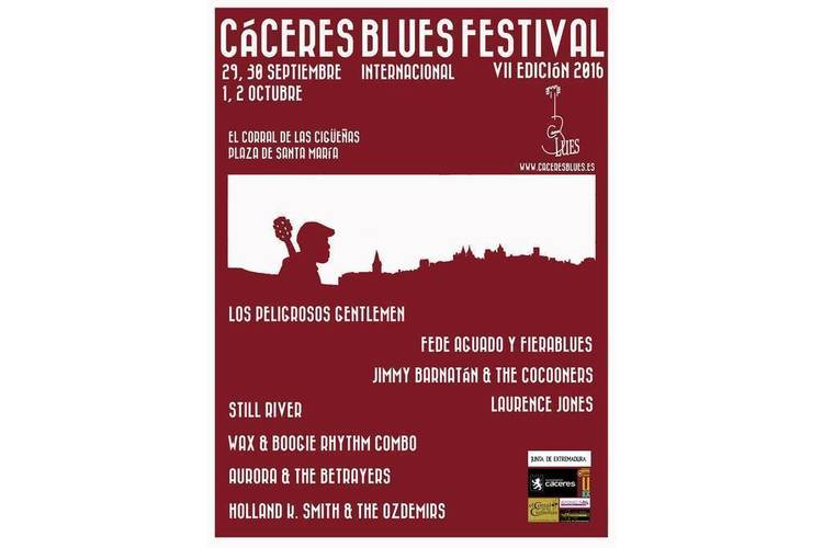 Normal vii caceres blues festival 2016