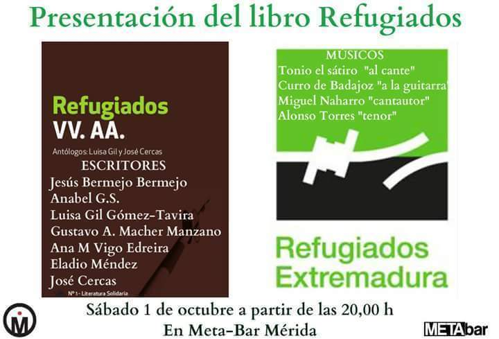 Normal presentacion del libro refugiados